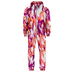 Flamingos Hooded Jumpsuit (men)  by StarvingArtisan