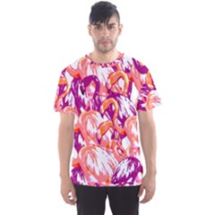 Flamingos Men s Sports Mesh Tee by StarvingArtisan