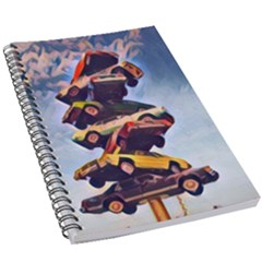 Pretty Colors Cars 5 5  X 8 5  Notebook by StarvingArtisan