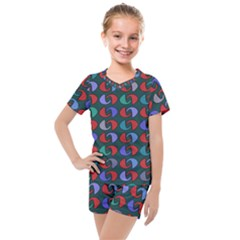 Zappwaits 2 Kids  Mesh Tee And Shorts Set by zappwaits
