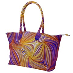 Electric Field Art Lii Canvas Shoulder Bag
