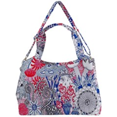 Floral Jungle  Double Compartment Shoulder Bag by okhismakingart
