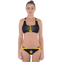 Iran Special Forces Insignia Cross Back Hipster Bikini Set by abbeyz71