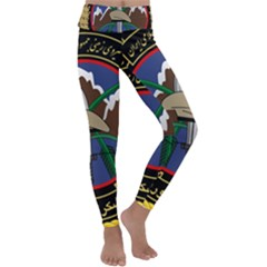 Iranian Army 23rd Takavar Division Insignia Kids  Lightweight Velour Classic Yoga Leggings by abbeyz71