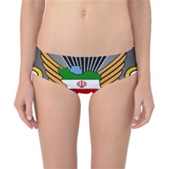Insignia Of Iranian Army 55th Airborne Brigade Classic Bikini Bottoms by abbeyz71