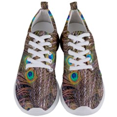 Pen Peacock Wheel Plumage Colorful Men s Lightweight Sports Shoes