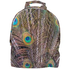 Pen Peacock Wheel Plumage Colorful Mini Full Print Backpack