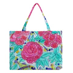 Roses And Movie Theater Carpet Medium Tote Bag by okhismakingart