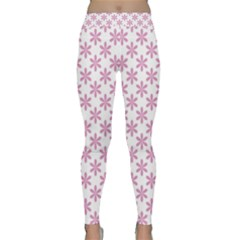Fancy Floral Pattern Classic Yoga Leggings by tarastyle