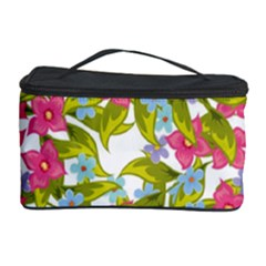 Fancy Floral Pattern Cosmetic Storage by tarastyle