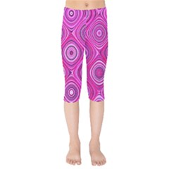 Electric Field Art Xiii Kids  Capri Leggings  by okhismakingart