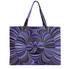 Electric Field Art Xx Zipper Mini Tote Bag