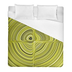 Electric Field Art Xxvii Duvet Cover (full/ Double Size) by okhismakingart