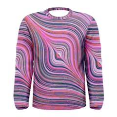 Electric Field Art Xxx Men s Long Sleeve Tee