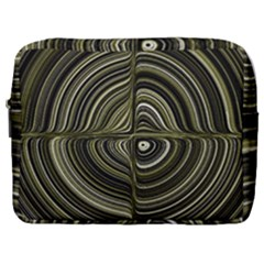 Electric Field Art Xxxii Make Up Pouch (large)