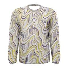 Electric Field Art Xxxvii Men s Long Sleeve Tee