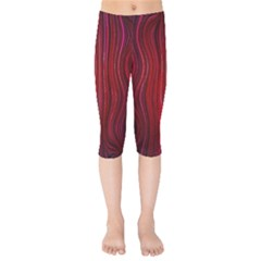 Electric Field Art Xli Kids  Capri Leggings  by okhismakingart