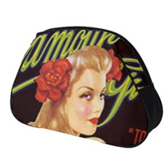Blonde Bombshell Retro Glamour Girl Posters Full Print Accessory Pouch (small) by StarvingArtisan