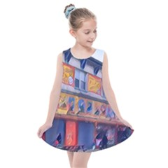 Coney Island Freak Show Kids  Summer Dress by StarvingArtisan