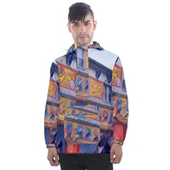 Coney Island Freak Show Men s Front Pocket Pullover Windbreaker by StarvingArtisan
