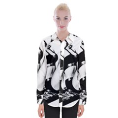 Pinup Girl Womens Long Sleeve Shirt