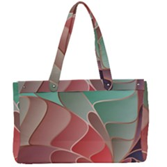 Modern Colorful Abstract Art Canvas Work Bag by tarastyle