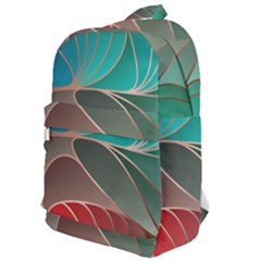 Modern Colorful Abstract Art Classic Backpack by tarastyle
