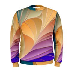 Modern Colorful Abstract Art Men s Sweatshirt by tarastyle