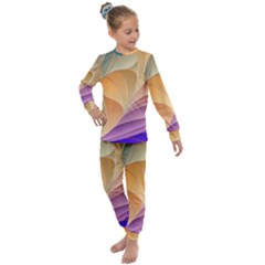 Modern Colorful Abstract Art Kids  Long Sleeve Set  by tarastyle