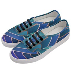 Modern Colorful Abstract Art Women s Classic Low Top Sneakers by tarastyle