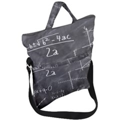 Mathematics Fold Over Handle Tote Bag by snowwhitegirl