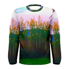 Field Of Goldenrod Men s Long Sleeve Tee