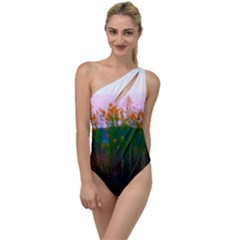 Field Of Goldenrod To One Side Swimsuit