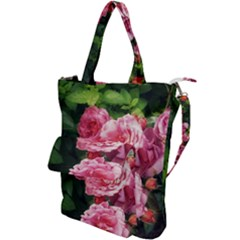 Summer Roses Shoulder Tote Bag