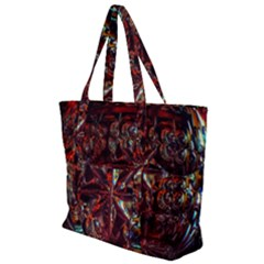 Crystal Star  Zip Up Canvas Bag