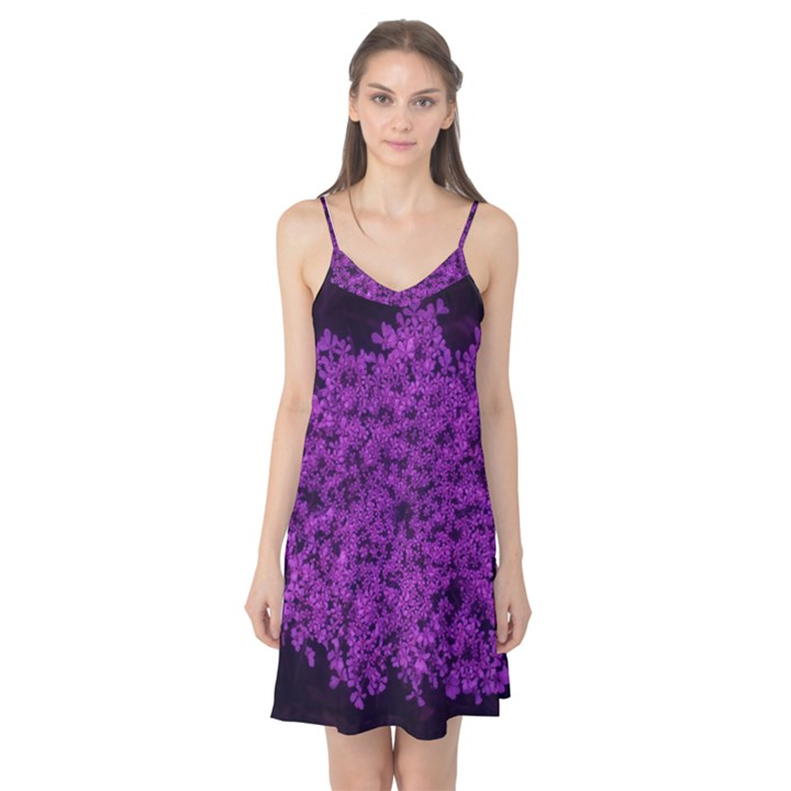 Queen Annes Lace in Purple Camis Nightgown