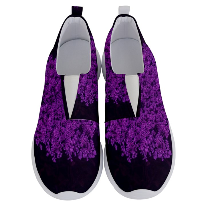 Queen Annes Lace in Purple No Lace Lightweight Shoes