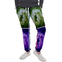 Closing Queen Annes Lace Collage (horizontal) Men s Jogger Sweatpants