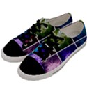 Closing Queen Annes Lace Collage (Horizontal) Men s Low Top Canvas Sneakers View2