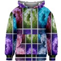 Closing Queen Annes Lace Collage (Horizontal) Kids  Zipper Hoodie Without Drawstring View1