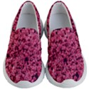 Queen Annes Lace in Red Part II Kids  Lightweight Slip Ons View1