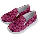 Queen Annes Lace in Red Part II Kids  Lightweight Slip Ons View2