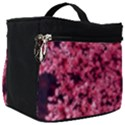 Queen Annes Lace in Red Part II Make Up Travel Bag (Big) View1
