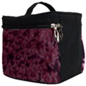 Queen Annes Lace in Red Part II Make Up Travel Bag (Big) View2