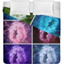 Closing Queen Annes Lace Collage (Vertical) Duvet Cover Double Side (King Size) View1