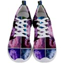 Closing Queen Annes Lace Collage (Vertical) Men s Lightweight Sports Shoes View1