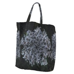 Queen Annes Lace In White Giant Grocery Tote