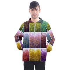 Goldenrod Collage Men s Half Zip Pullover