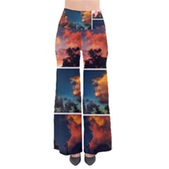 Sunset Collage Ii So Vintage Palazzo Pants by okhismakingart