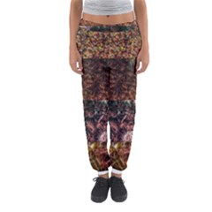 Queen Annes Lace Horizontal Slice Collage Women s Jogger Sweatpants by okhismakingart